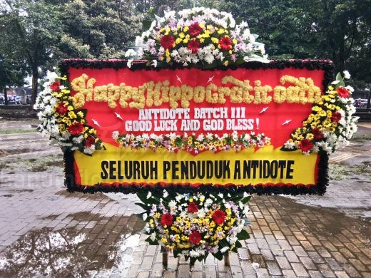 Bunga Papan Congratulation 038