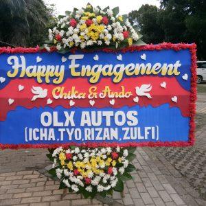 Bunga Papan Happy Engagement 004
