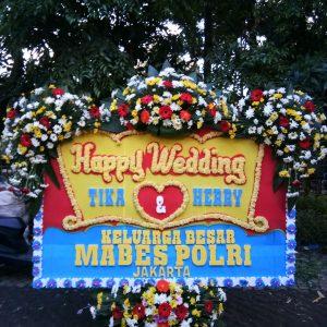 Bunga Papan Wedding 010