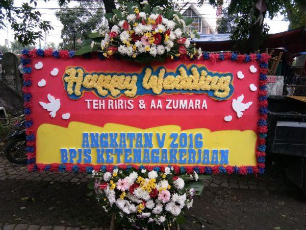 Bunga Papan Wedding 011