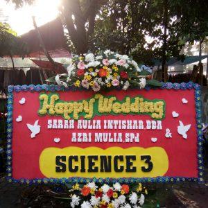 Bunga Papan Wedding 014