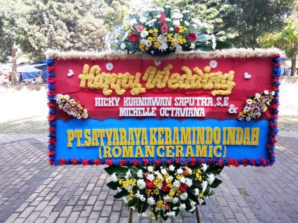 Bunga Papan Wedding 015