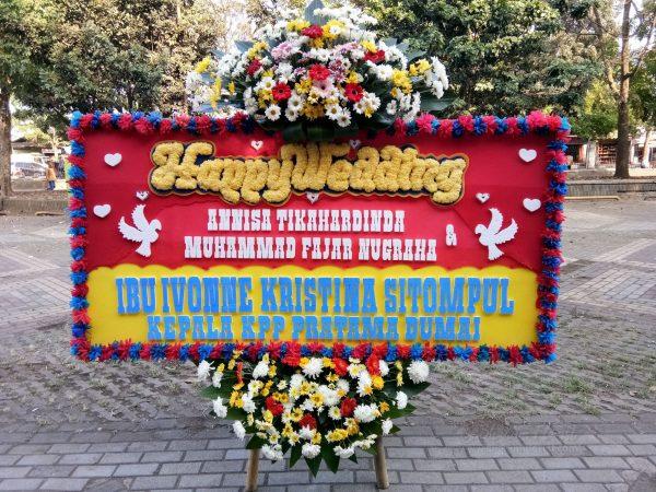 Bunga Papan Wedding 016