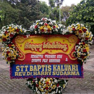 Bunga Papan Wedding 017