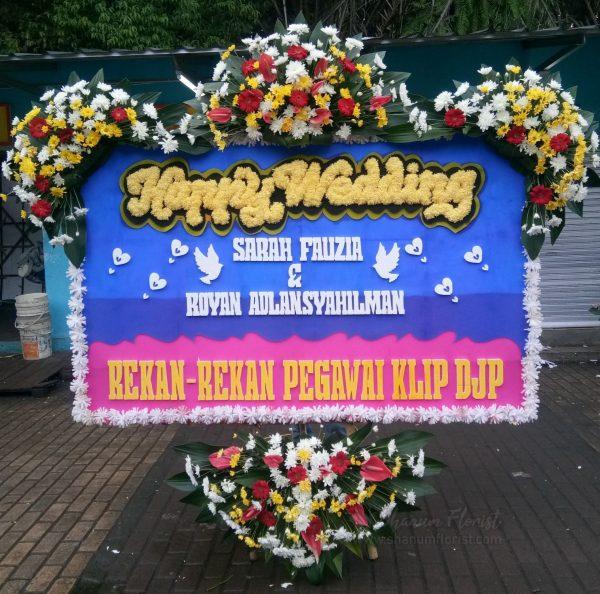 Bunga Papan Wedding 018