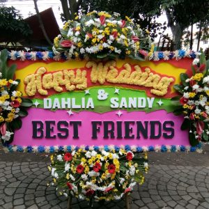 Bunga Papan Wedding 002