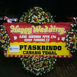 Bunga Papan Wedding 020