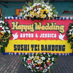 Bunga Papan Wedding 021