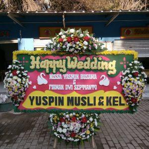 Bunga Papan Wedding 023