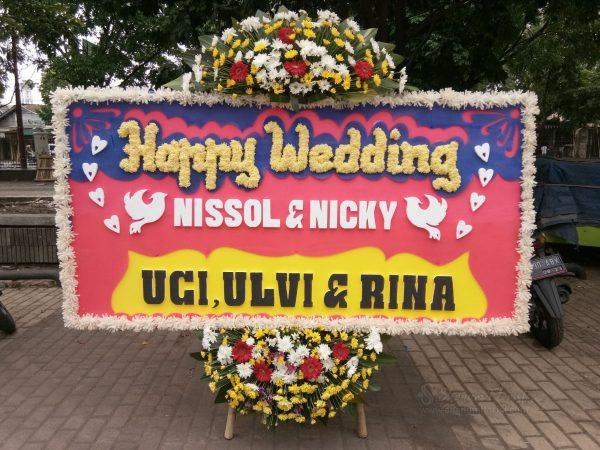 Bunga Papan Wedding 024