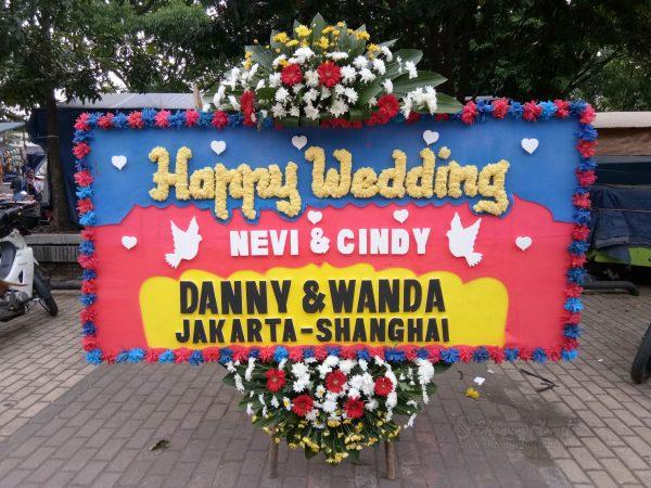 Bunga Papan Wedding 025