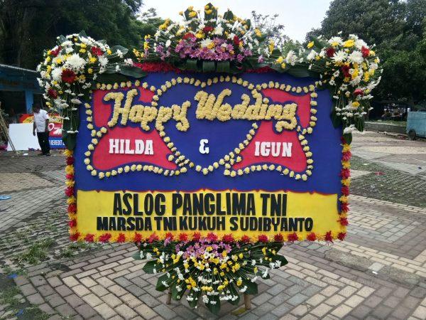 Bunga Papan Wedding 028