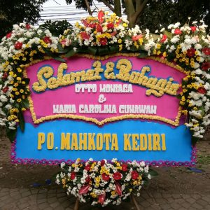 Bunga Papan Wedding 003