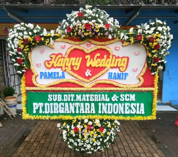 Bunga Papan Wedding 031