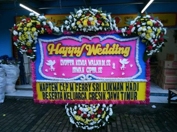 Bunga Papan Wedding 032
