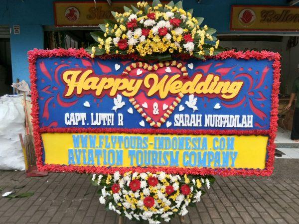 Bunga Papan Wedding 034