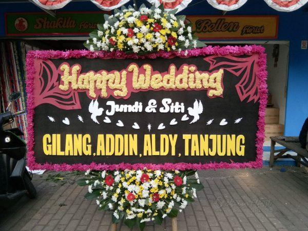 Bunga Papan Wedding 036