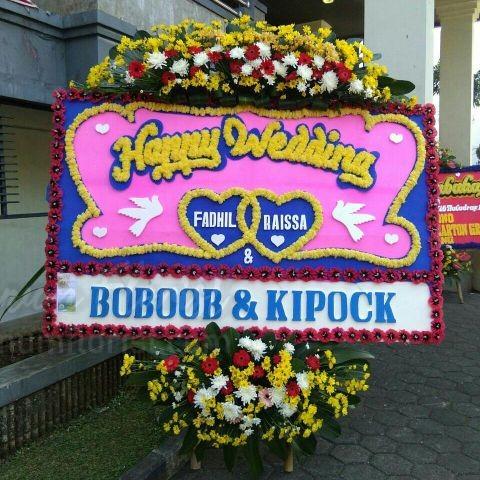 Bunga Papan Wedding 004