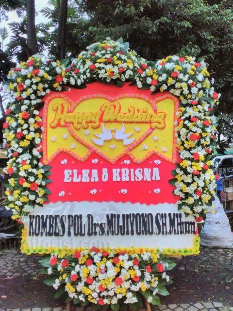 Bunga Papan Wedding 045