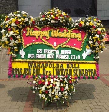 Bunga Papan Wedding 048