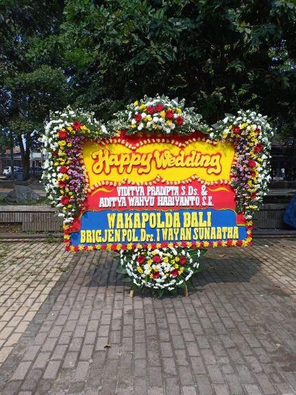 Bunga Papan Wedding 050