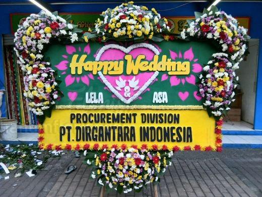 Bunga Papan Wedding 054