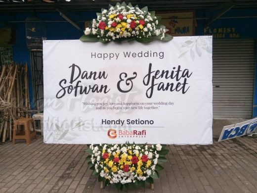 Bunga Papan Wedding 056
