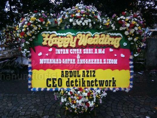 Bunga Papan Wedding 059