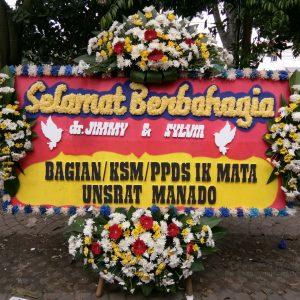 Bunga Papan Wedding 006