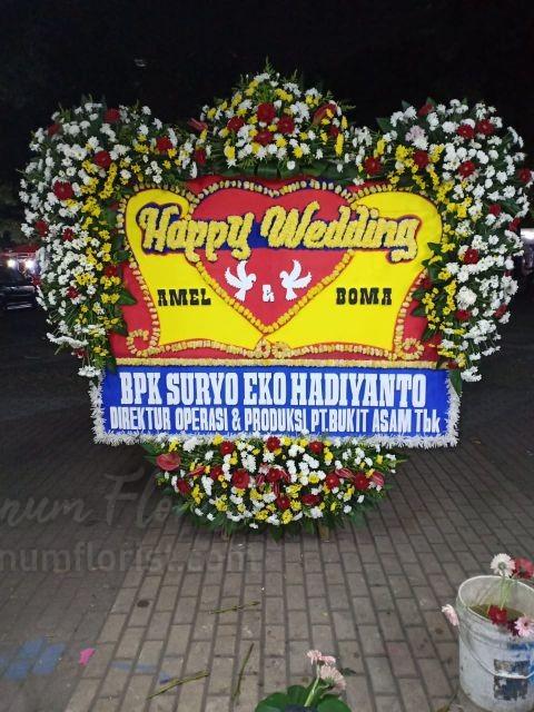 Bunga Papan Wedding 060