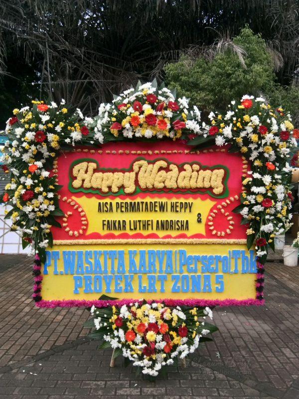Bunga Papan Wedding 063