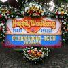 Bunga Papan Wedding 008