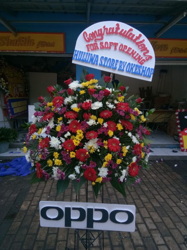 Standing Flowers 013