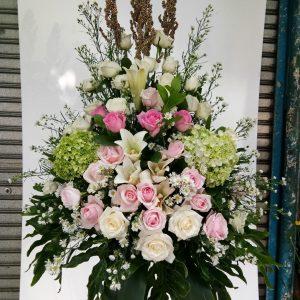 Standing Flowers 002