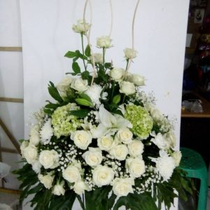 Standing Flowers 021