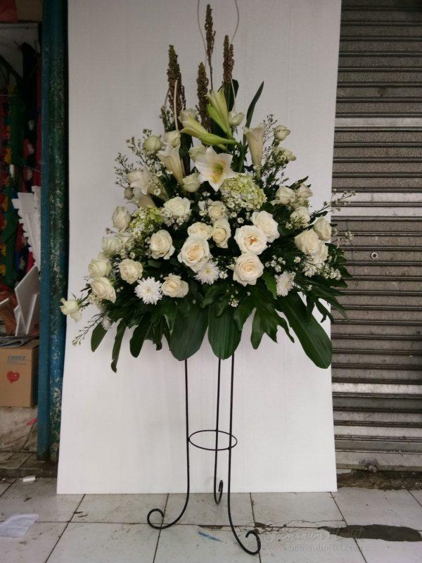 Standing Flowers 003