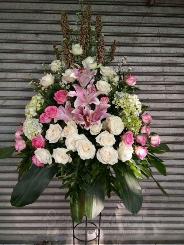 Standing Flowers 030
