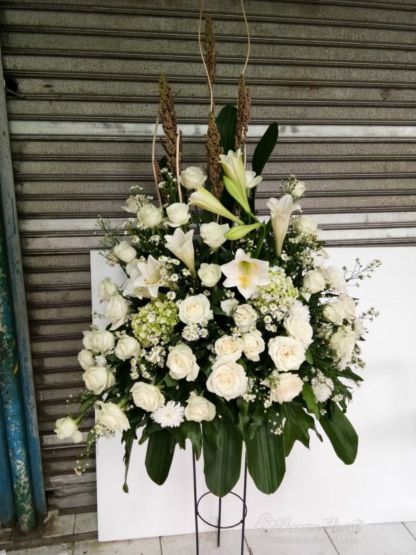 Standing Flowers 004