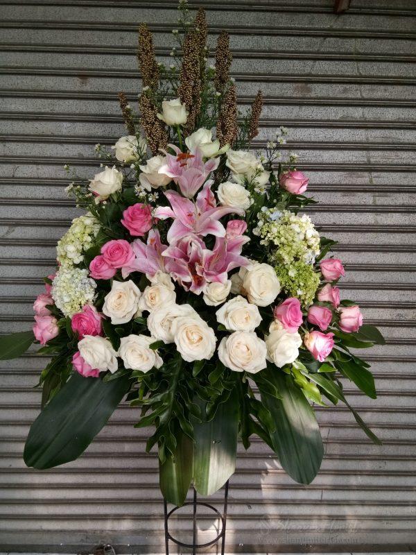 Standing Flowers 005